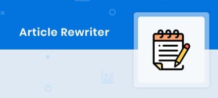 Article Rewriter Rewriter