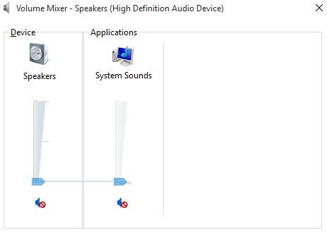 Check Your Audio First