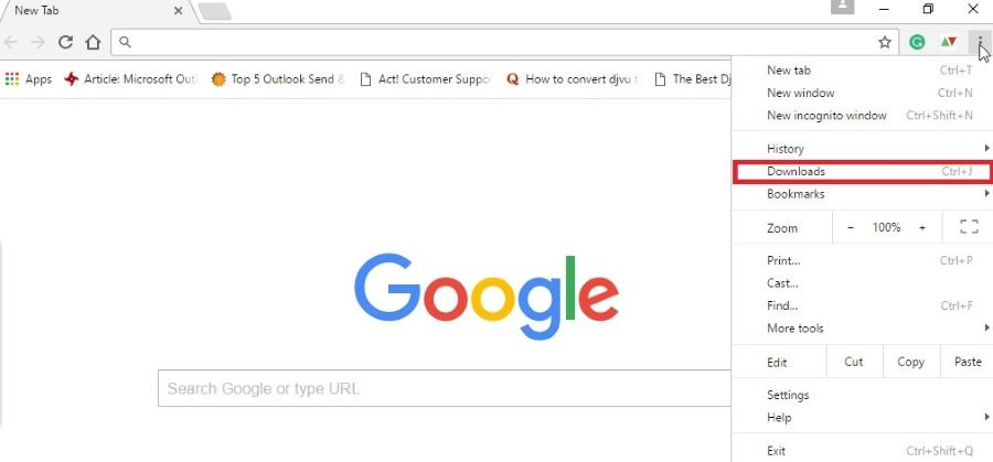 Customize and Control Google Chrome setting