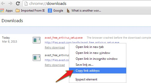 Find your file name which has not been downloaded yet