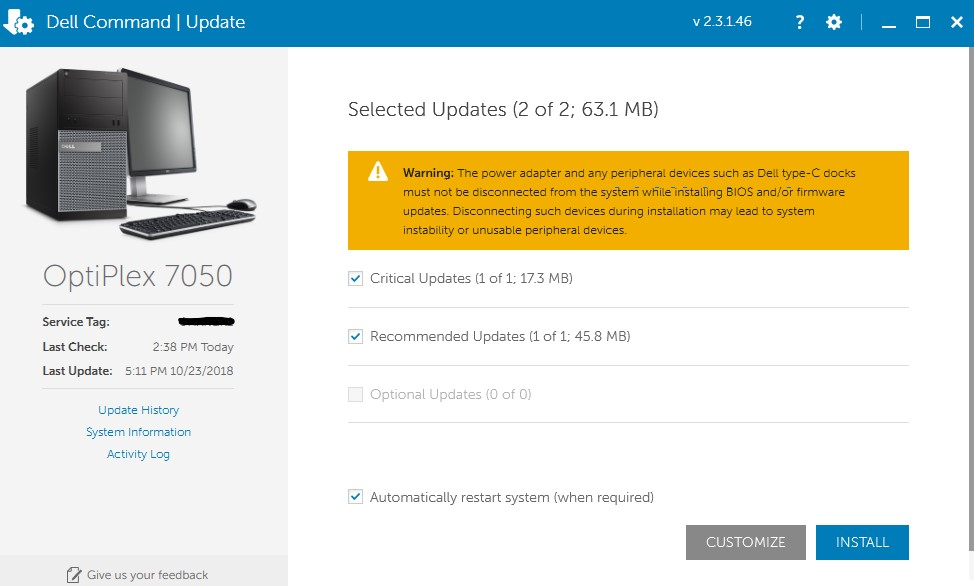 How to Get Dell Command Updates 1