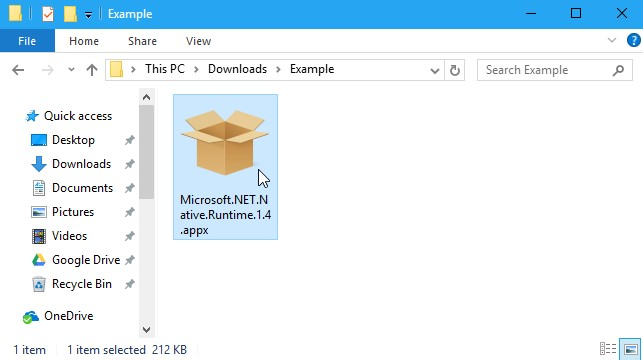 How to Open AppxBundle File in Windows 10