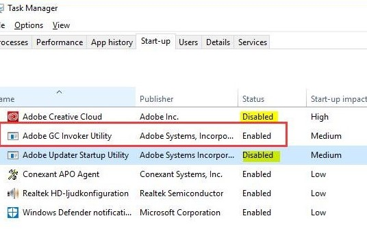 How to Uninstall Adobe GC Invoker Utility