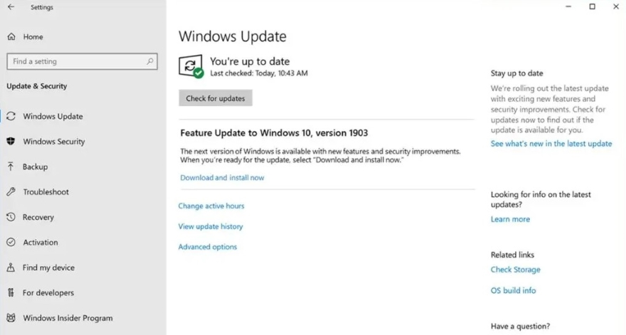Install all available Windows Updates