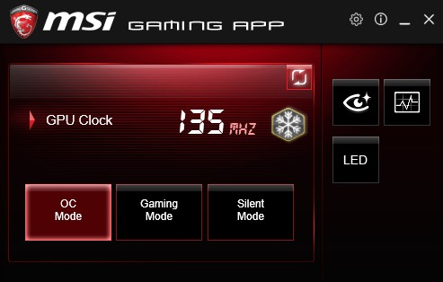 Install the latest version of MSI gaming app (recommended)