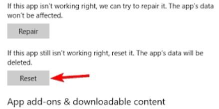 Repairing or Resetting Your Windows 10 Hulu App2