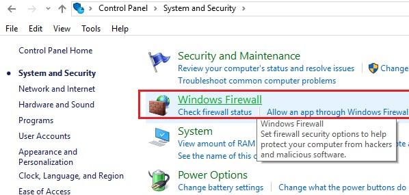 Temporarily Disable Antivirus or Firewall