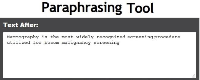 Tool.com Paraphrasing-tool.com