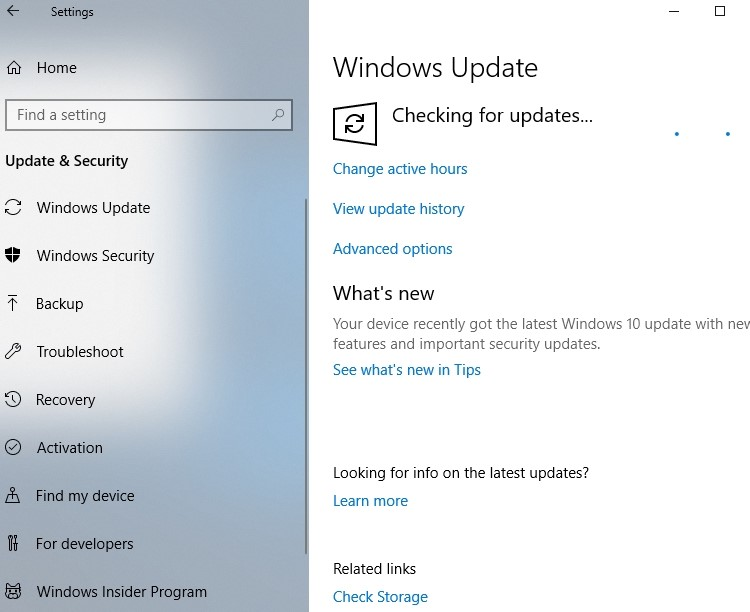 Update Your Windows OS