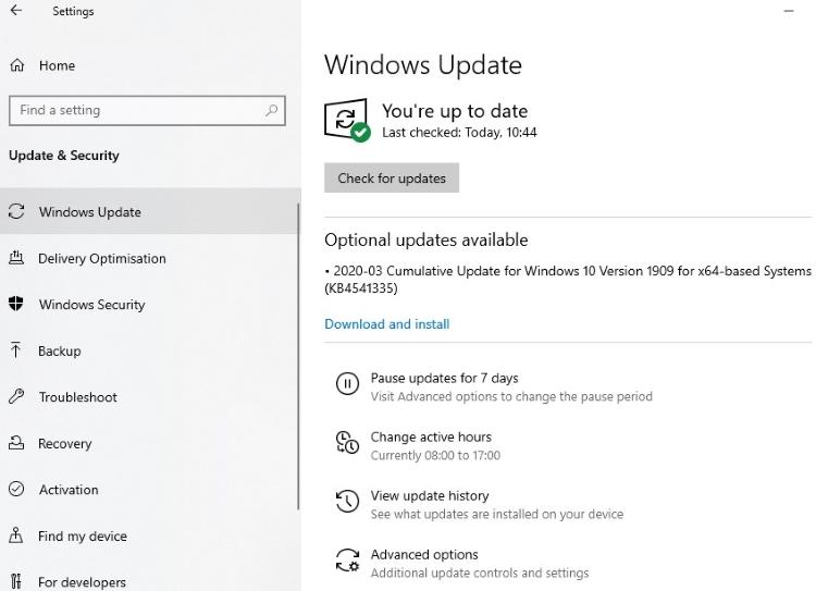 Update Your Windows1