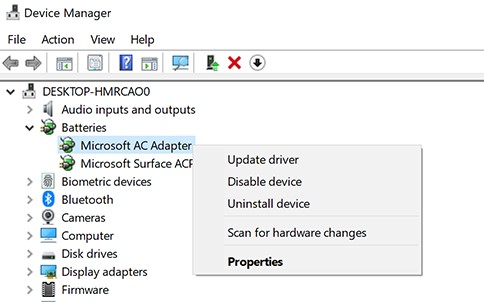 Update the device drivers