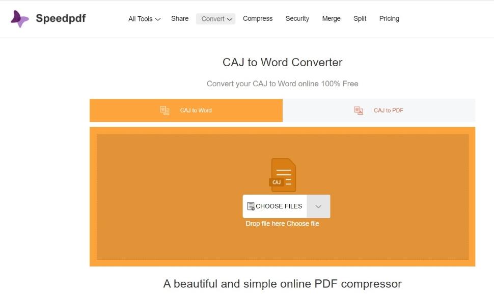 Use Speedpdf Online Tool
