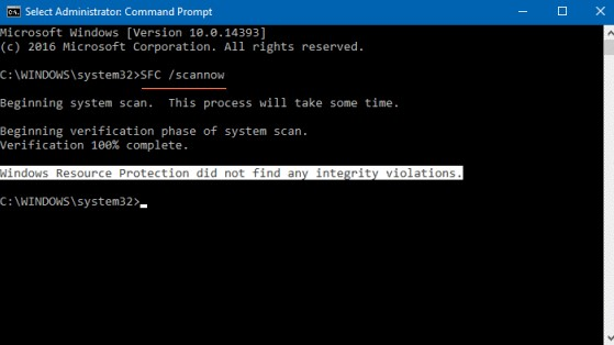 Using System File Checker Tool To Scan And Fix Corrupted System Files