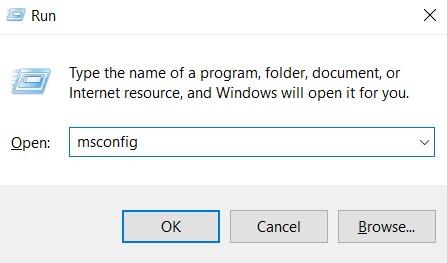 Windows key + R to open up a Run box