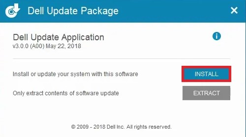 hit the Install option