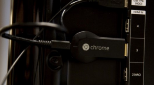 plug your Chromecast into your TV