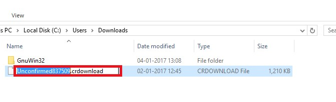rename the file name on Chrome with a name of Firefox file including the extension.