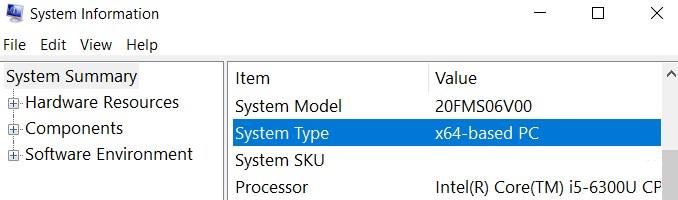 system type1