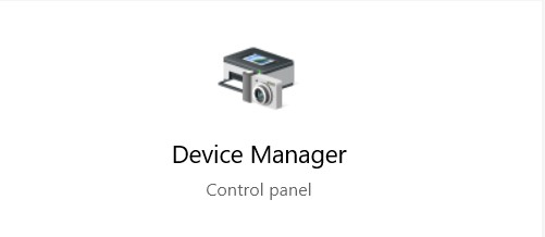 type Device Manager