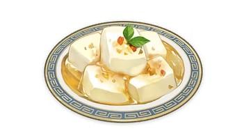 Almond Tofu
