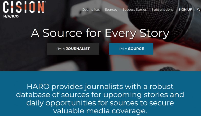 Be a source for reporters and bloggers