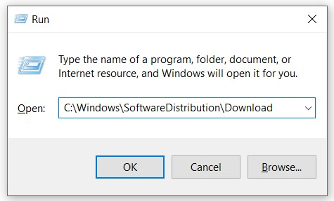 C Windows SoftwareDistribution Download
