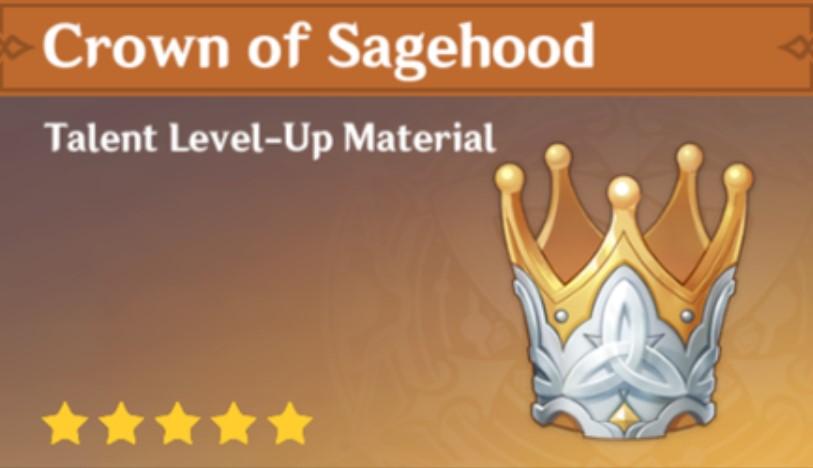 Crown of Sagehood Genshin Impact Use