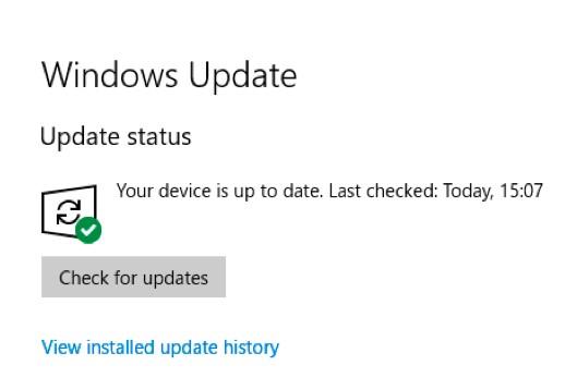Do a Windows Update