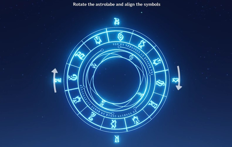 Genshin Impact Astrolabe Symbol