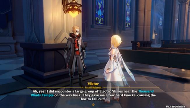 Get hints from Viktor
