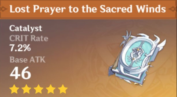 Lost Prayer to the Sacred Winds