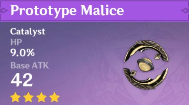 Prototype Malice