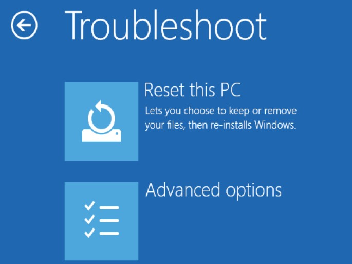 Restore Your PC Back To The Latest Restore Point Or Backup Image Before Error Occurred
