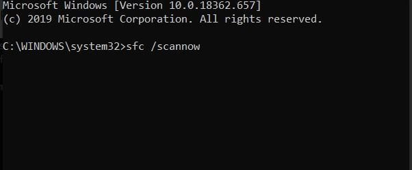 Run System File Checker To Restore The Corrupt File.