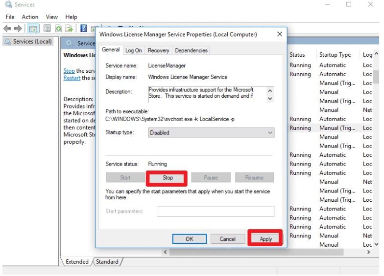 Windows License Management Service