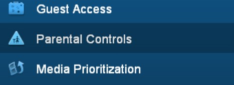 click on the Parental Controls in the left pane
