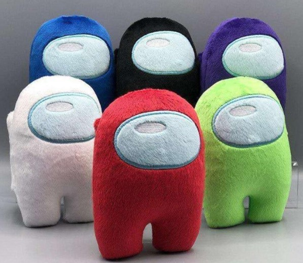 3 Pcs Among Us Plush Toys