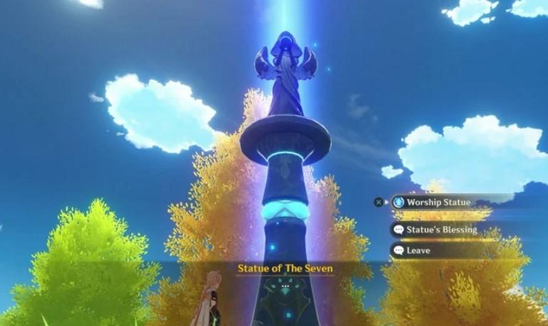 Activate The Seven Statue
