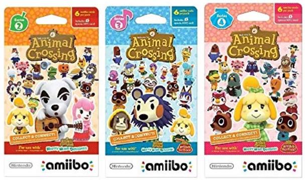 Amazon Animal Crossing Amiibo Villager Cards