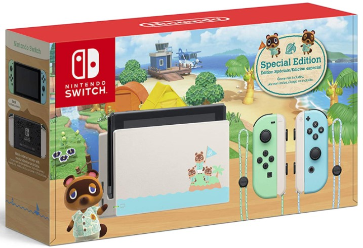 Animal Crossing Nintendo Switch Console Bundle Review