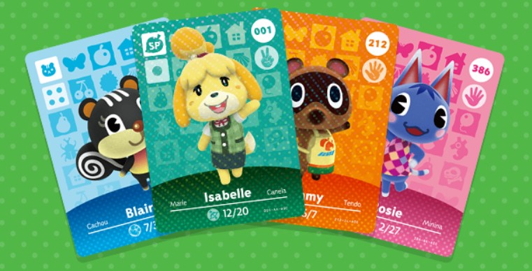 Animal Crossing amiibo Cards Series 1-4