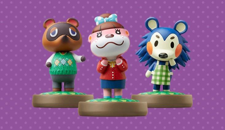 Animal Crossing amiibo Figures