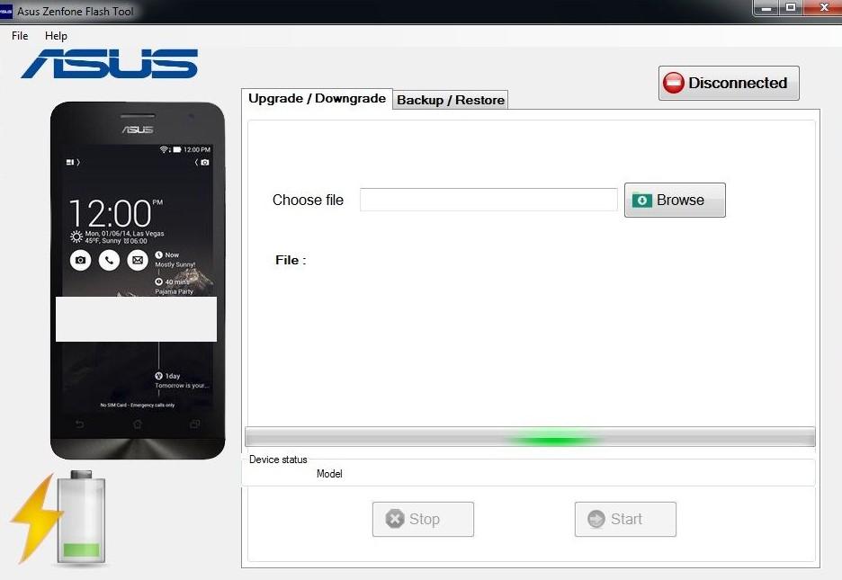 Asus Flash Tool 1