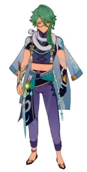 Baizhu Genshin Impact Skills