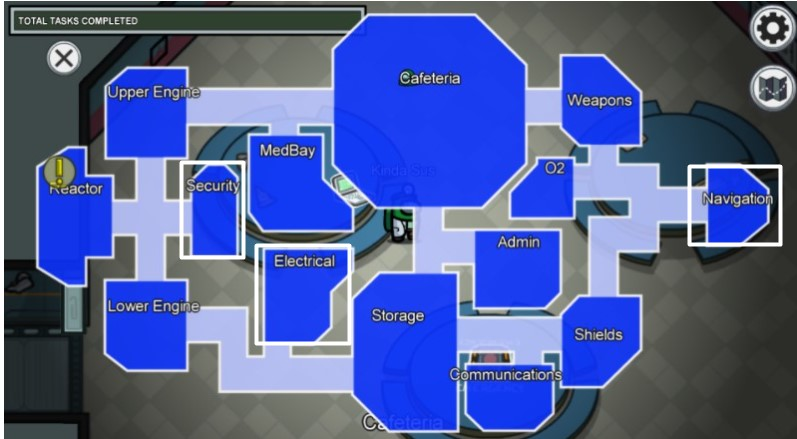 Best Rooms To Kill in The Skeld Map