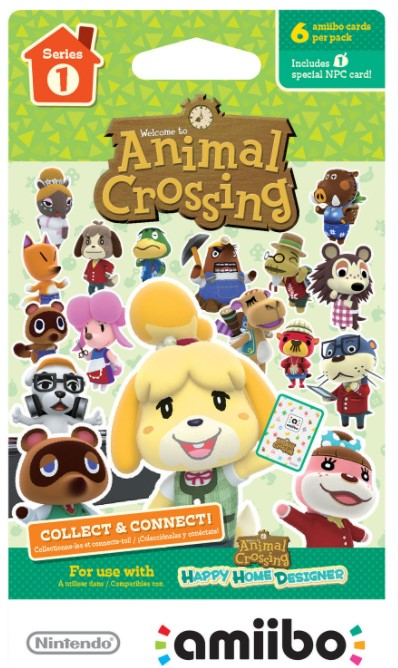 BestBuy Animal Crossing Amiibo Villager Cards