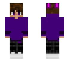 Bonnie human (can be used as normal skin) created by Iliketurtlesandfnaf