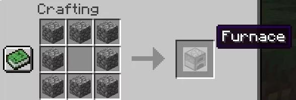 Craft a furnace