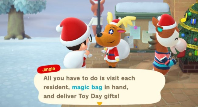 Deliver Presents To Villagers