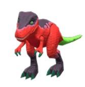 Dinosaur Toys red